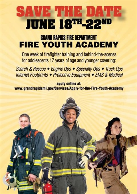 Fire Department now accepting applications for Fire Youth