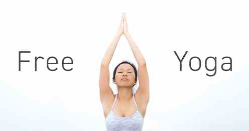 JPG image of a woman in a yoga pose and the words