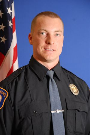 Photo of Community Police Officer Ryan Ricketson