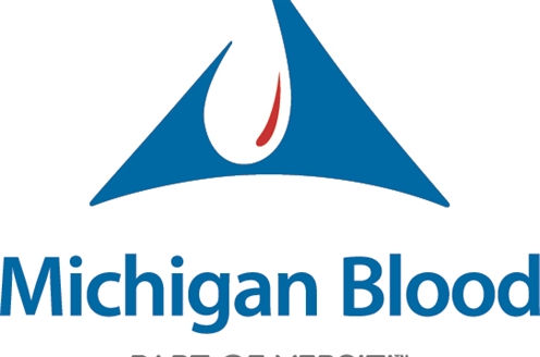 JPG image of Michigan Blood logo