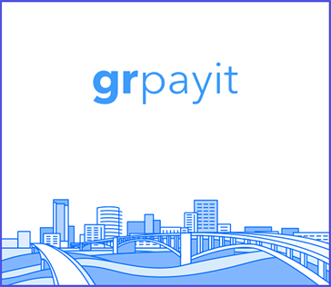 Icon showing Grand Rapids' new payment application illustration