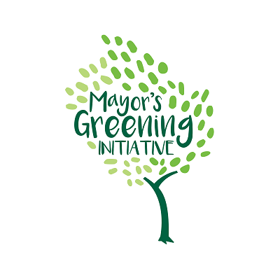 Tree logo for Mayor's Greening Initiative
