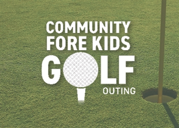 .jpg image of the Community Fore Kids golf outing logo