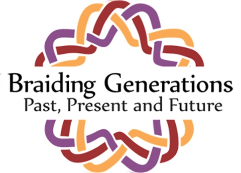 Braiding Generations Logo for the CRC's Anniversary