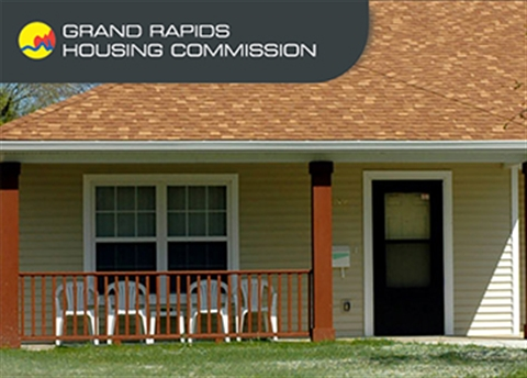 Photo of a housing unit established by the Grand Rapids Housing Commission