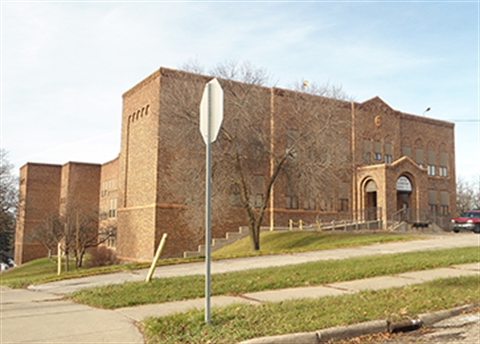 Photograph of the former Eastern Elementary building