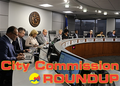 City Commission Roundup Banner