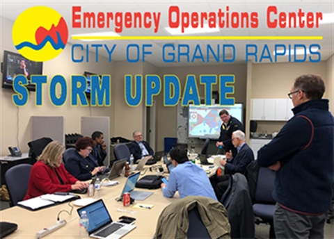 Image of the EOC Storm Operation