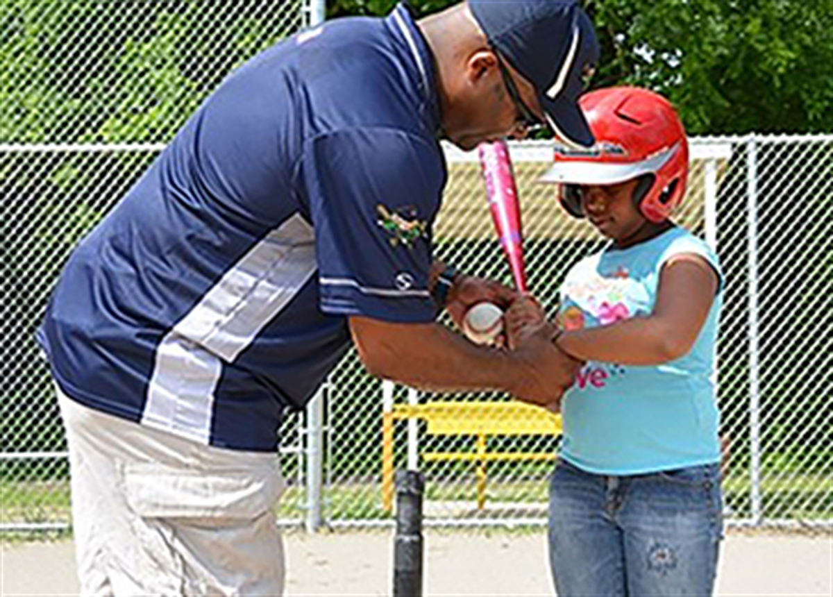 Police Department Teams With Community On Youth Baseball Program